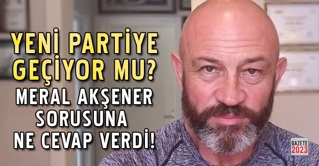 Ali Türkşen Yeni Parti sorusuna ne cevap verdi?
