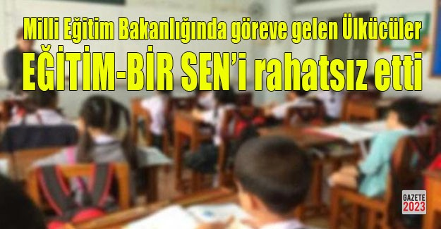 MEB'de cemaatçiler Ülkücüleri istemiyor