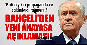 Bahçeli; TBMM'de gösterdiğimiz tavrı,referandumda da göstereceğiz!