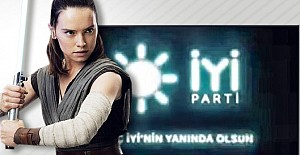 İYİParti Star Wars filmine reklam...