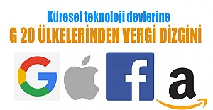 Google, Facebook, Apple, Amazon'a vergi dizgini